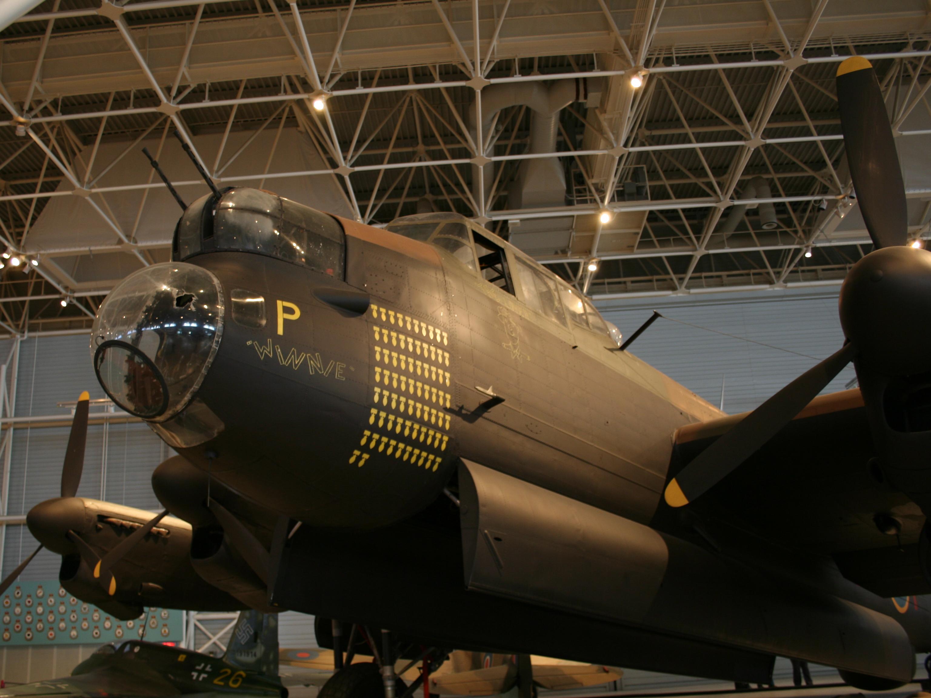 Nez d'un Avro Lancaster